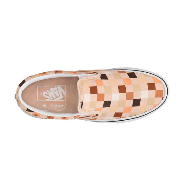 Breast Cancer Awareness Classic Slip-On 'Nude Check'