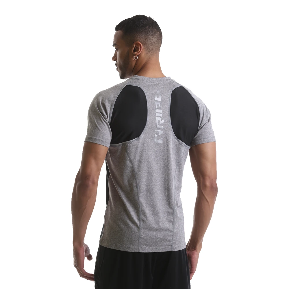 RIPT Performance T-shirt with Mesh Contrast Panelling