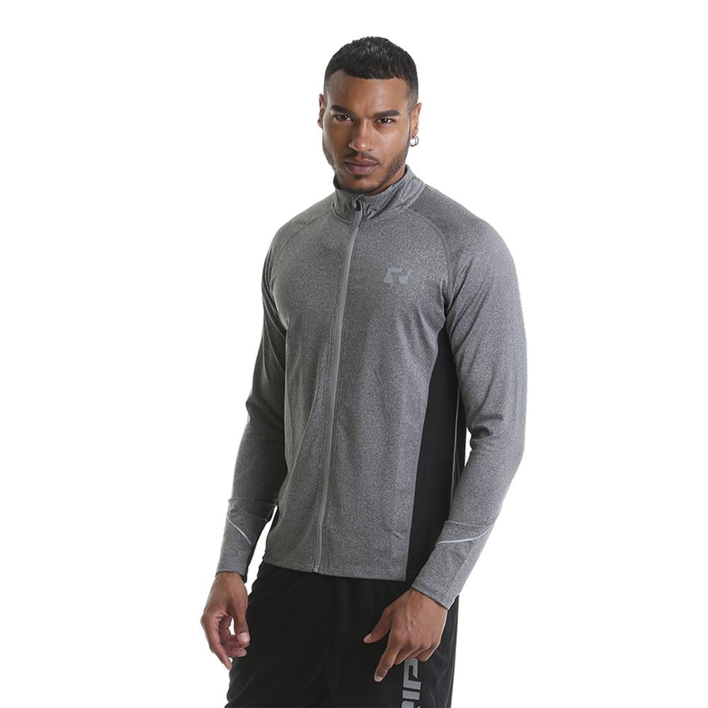 RIPT Performance Contrast Mesh Panelled Jacket