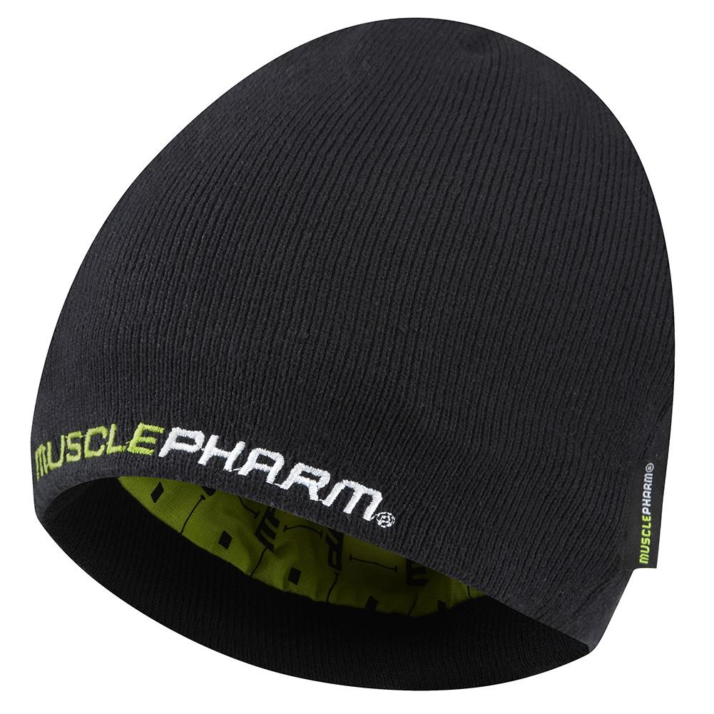 MUSCLEPHARM WEAK ENDS HERE KNIT BEANIE HAT