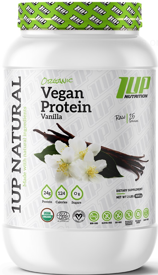 1 Up Nutrition Organic Vegan Protein