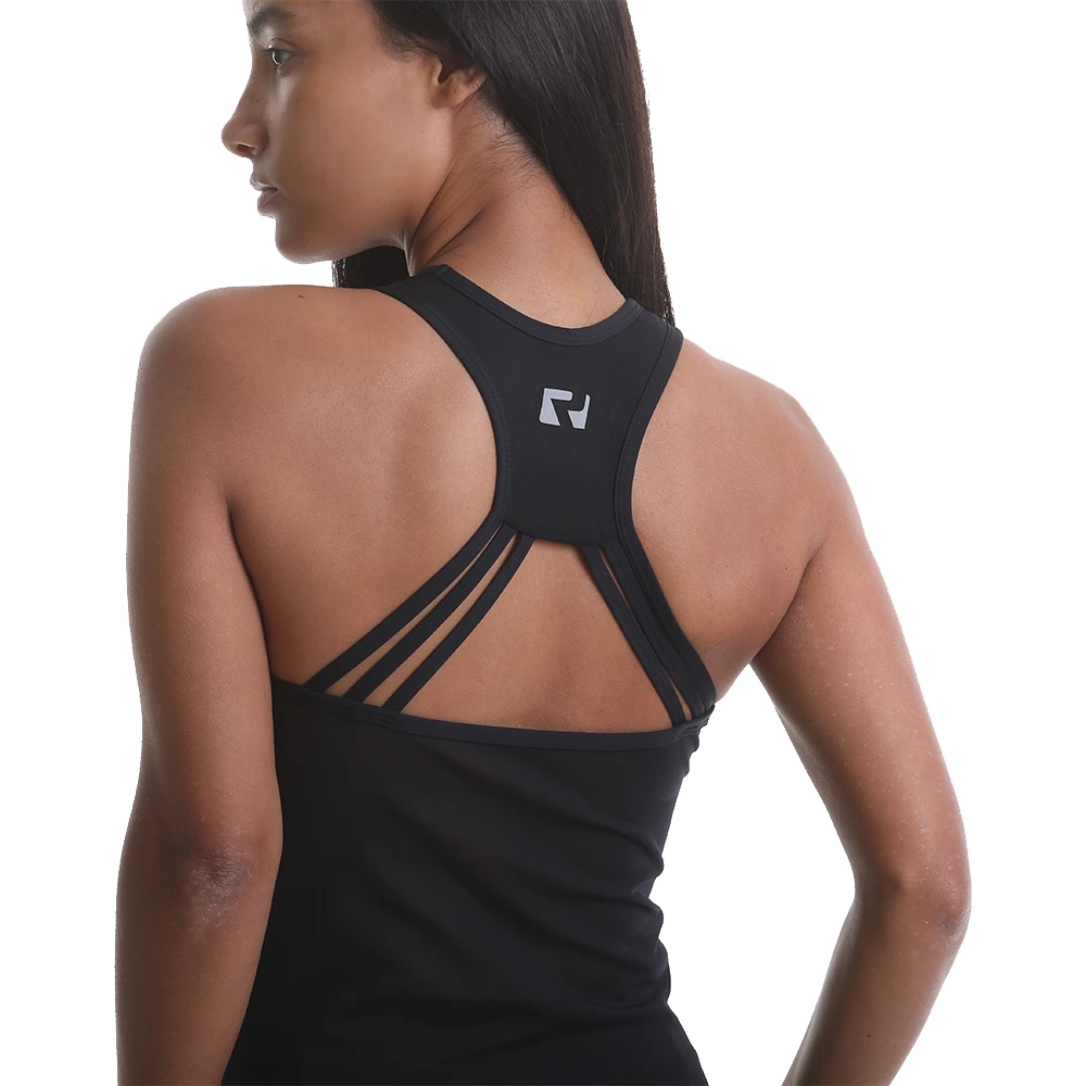 RIPT Performance Cut Out Back with Mesh Panels Vest