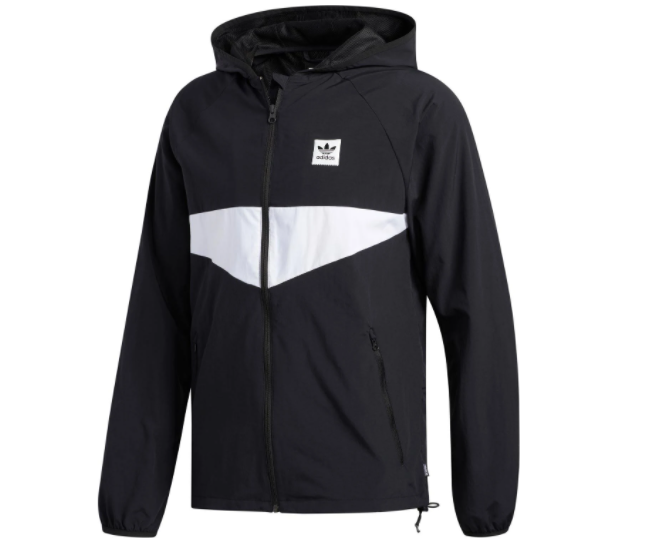Street Jacket Adidas Dekum Packable black/white