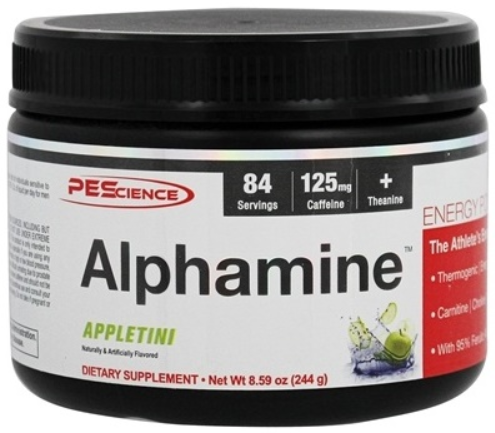 PEScience Alphamine, Powerful Thermo Powder