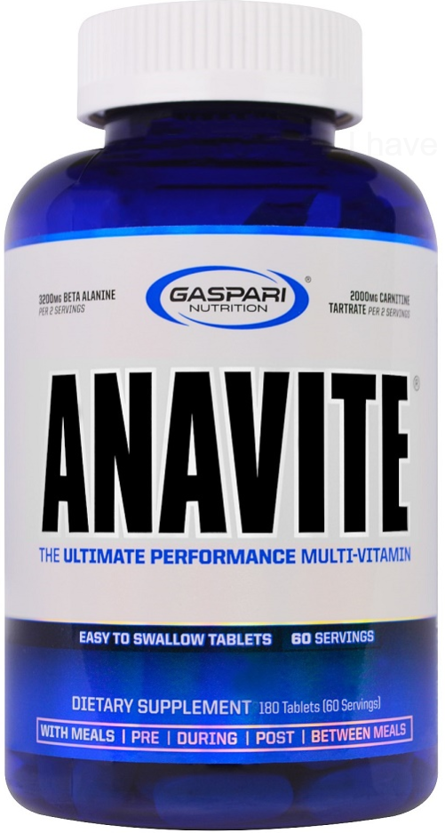 Gaspari Nutrition Anavite, Ultimate Performance Multi Vitamin