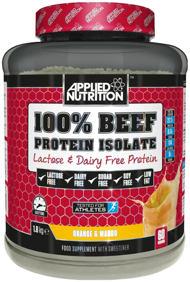 Applied Nutrition 100 % Beef Isolate Lactose & Dairy Free