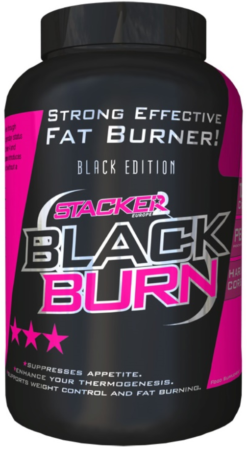 Stacker2 Europe Black Burn, Fat Burner. Black Edition