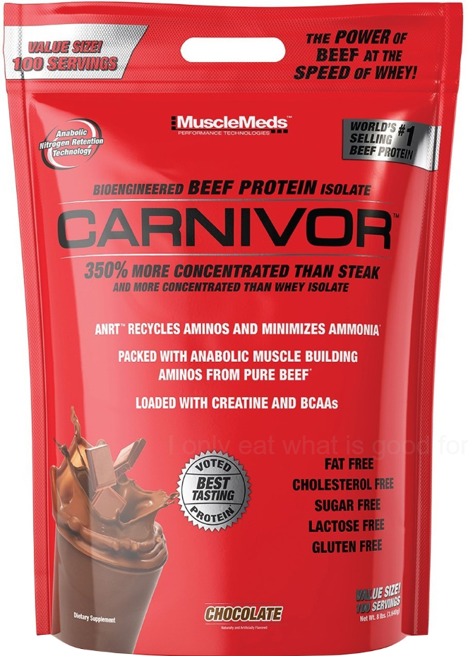 MuscleMeds Carnivor Beef Protein Isolate - 3640g