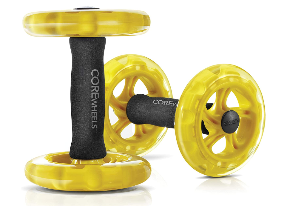 Core Wheels Dynamic Strength & Abs Trainer, Perfect Home Work Out