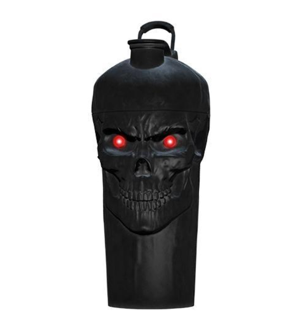 The Curse Skull Shaker, Awesome Unique Design, Leak Free & BPA Free