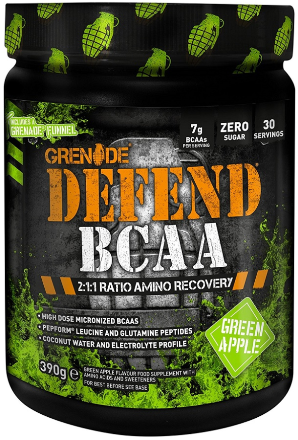 Grenade Defend BCAA, Aids Recovery and Hydration, Finance Available!