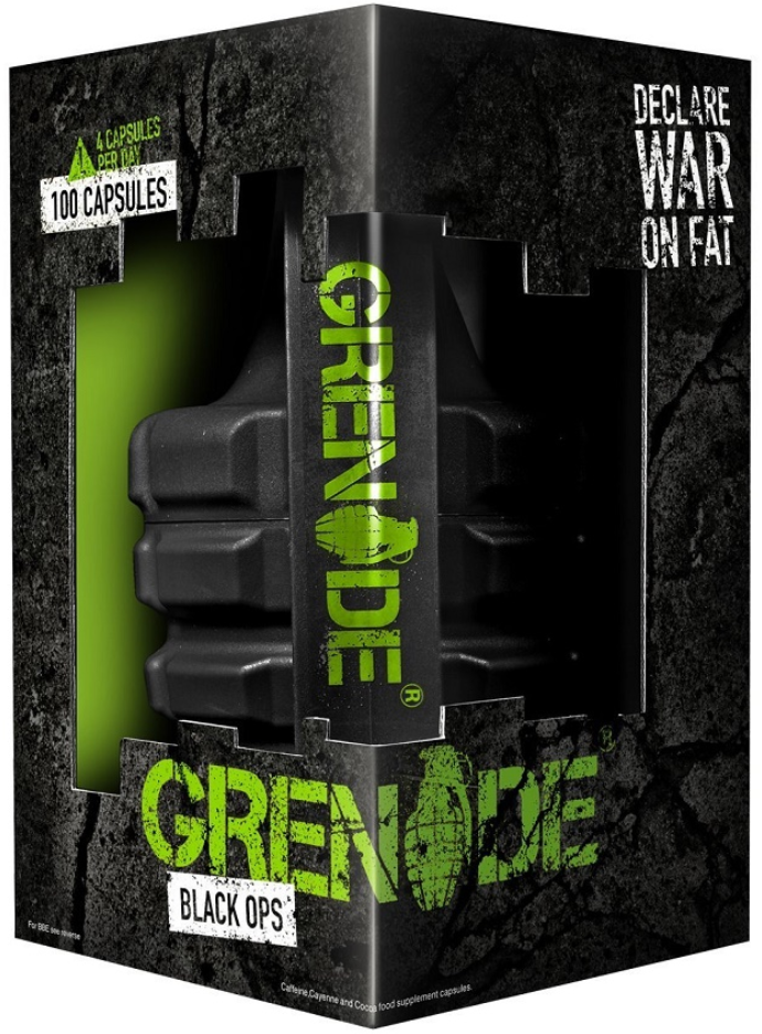 Grenade Black Ops, Fat Burners. Declare War on Fat