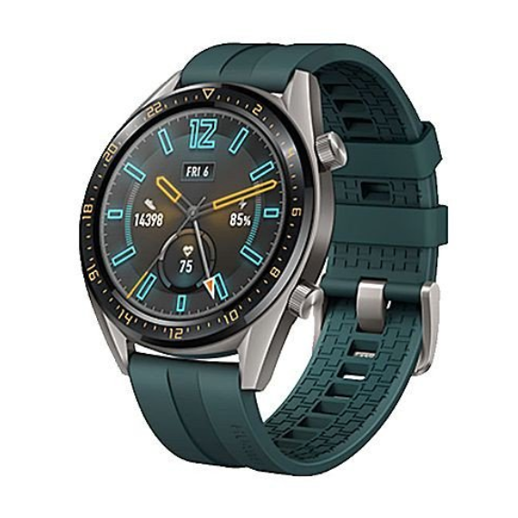 Huawei Watch GT FTN-B19m Titanium Grey Stainless Steel/Dark Green