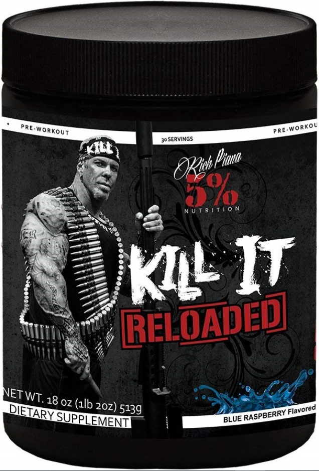 5% Nutrition Kill It Reloaded, Awesome Pre Work Out
