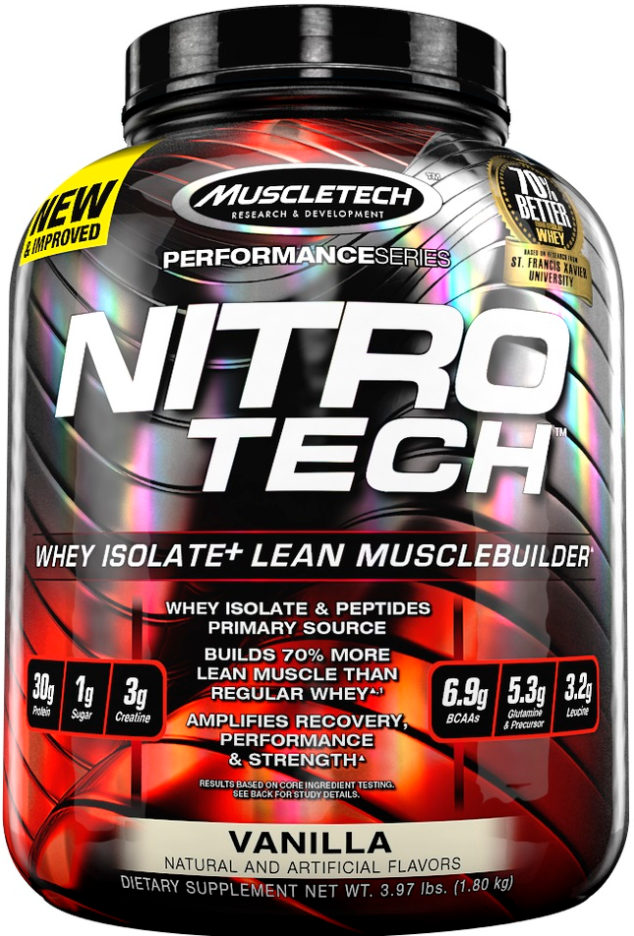 MuscleTech Nitro-Tech Performance Series Whey Protein