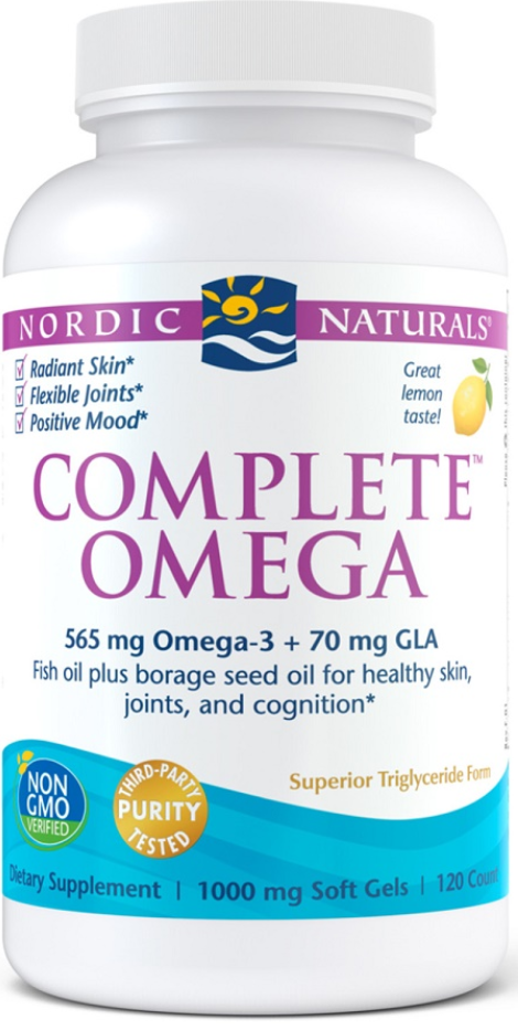Nordic Naturals Complete Omega, Premium Quality Complete Omega Solution