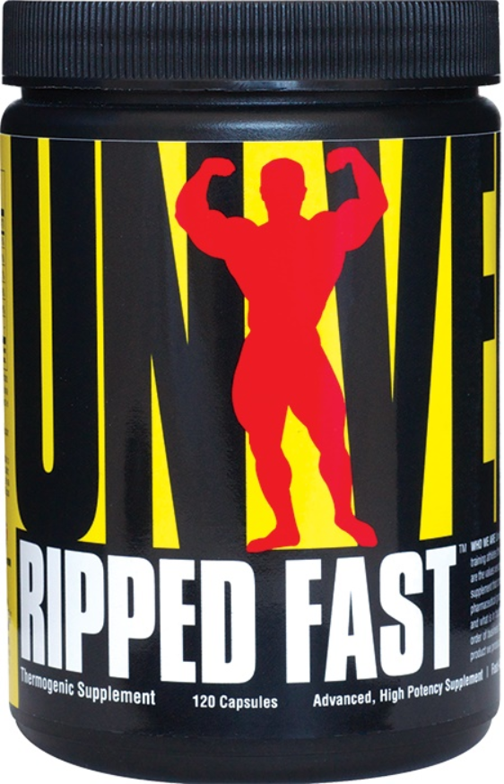 Universal Nutrition Ripped Fast Fat Burner, High Potency, Great Results FAST