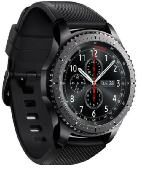 SAMSUNG Gear S3 Frontier - Space Grey, Universal Smart Watch