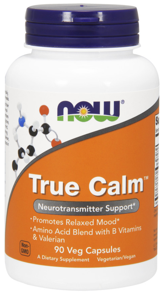 NOW Foods True Calm Neurotransmitter Support, Helps Promote a Relaxed Mood