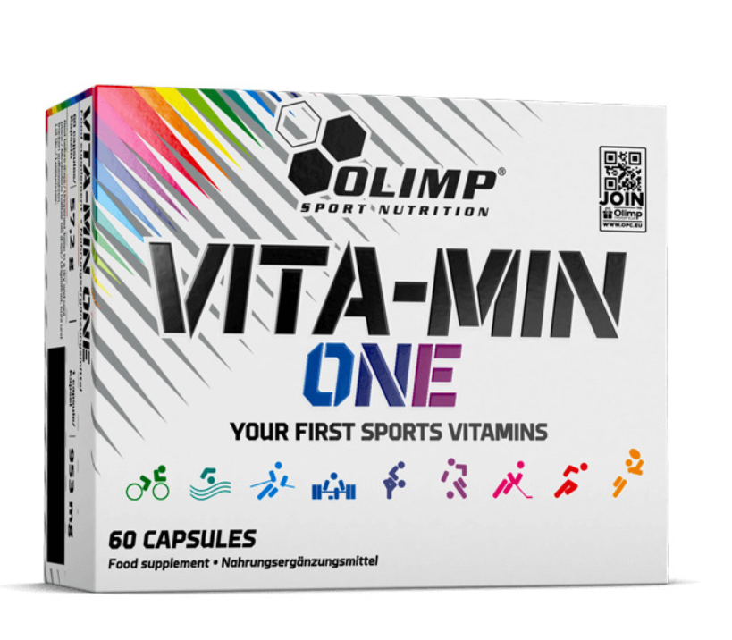 Olimp Nutrition Vita-Min One Sports Supplement All in One Vitamin & Mineral Replacement