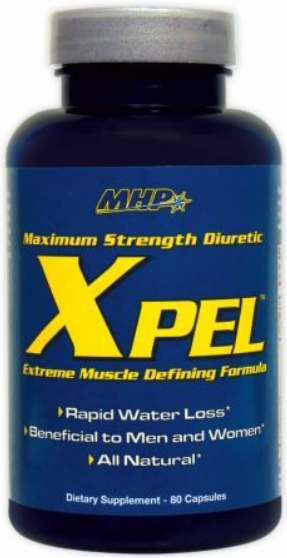 MHP XPel Maximum Strength Diuretic, Get That Shredded, Cut Look