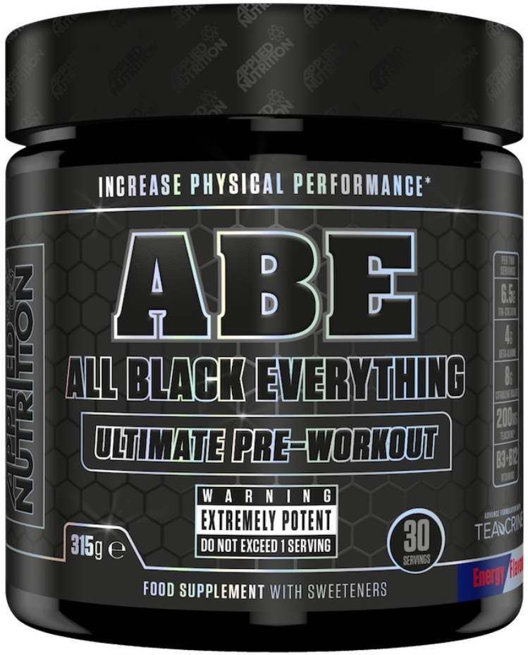 Applied Nutrition, All Black Everything, Ultimate Pre Work Out - 315g