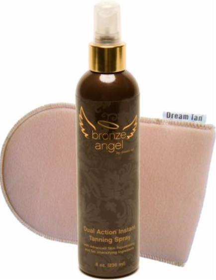 Dream Tan Bronze Angel Tanning Spray With Mitt
