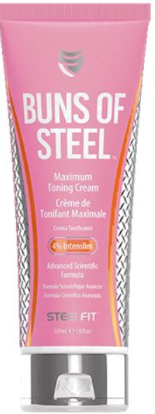 Pro Tan Buns of Steel advanced heat activated scientific formula designed to help give the appearance of a tight and toned buttocks.