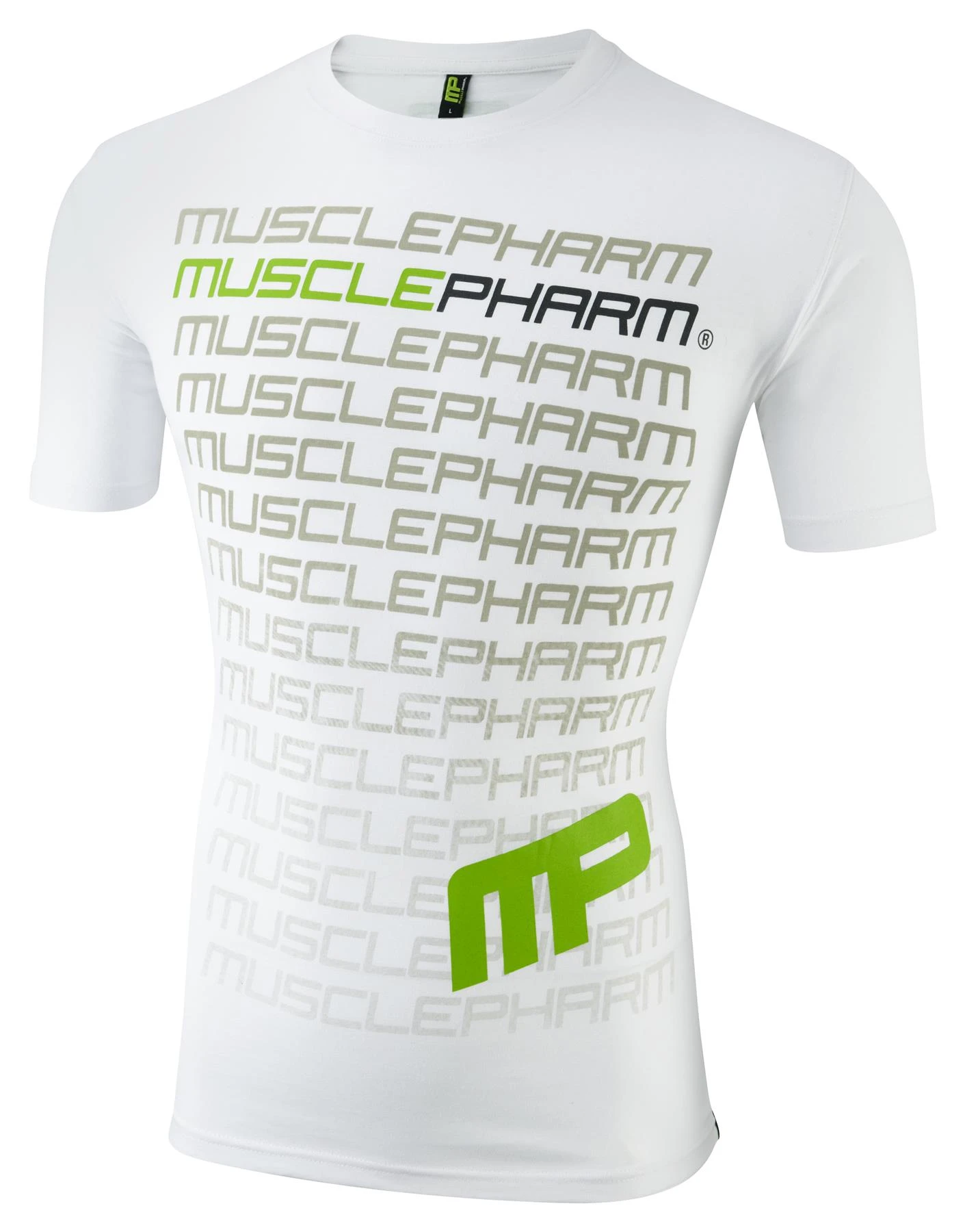 MusclePharm Crew Neck Flagship Tee
