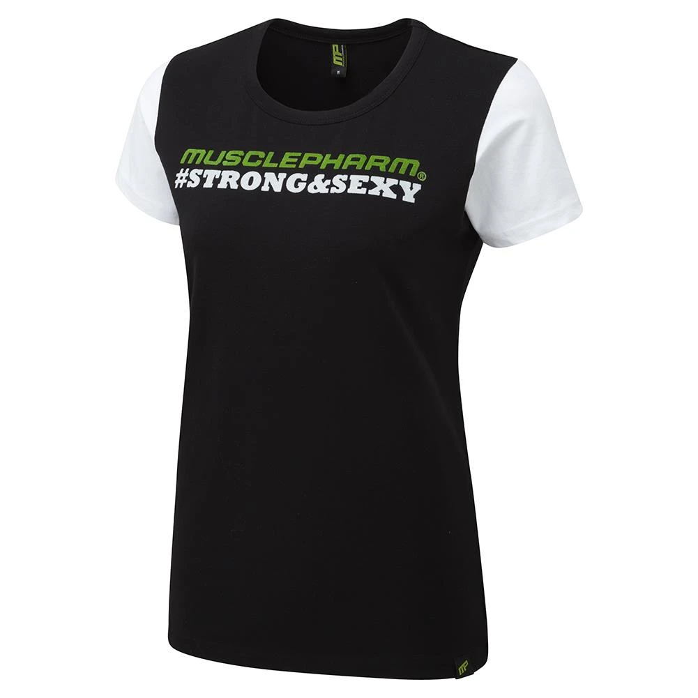 MusclePharm Ladies 'Strong & Sexy' Crew Neck Tee