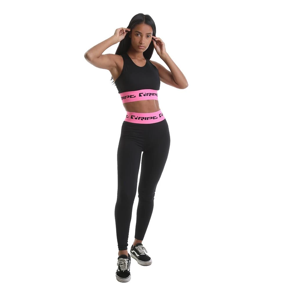 RIPT Performance Branded Crop Top