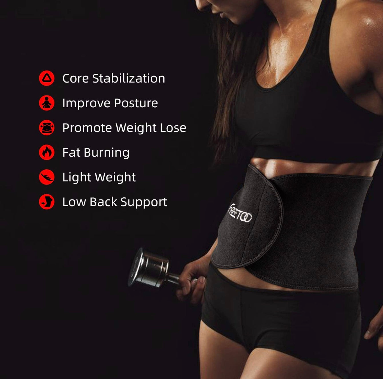 Adjustable Fitness and Slimming Belt