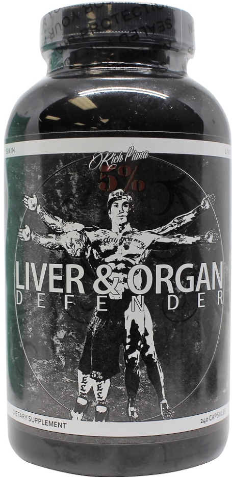 5% Nutrition Liver & Organ Defender Supports healthy liver, hear, kidneys, prostate and skin.