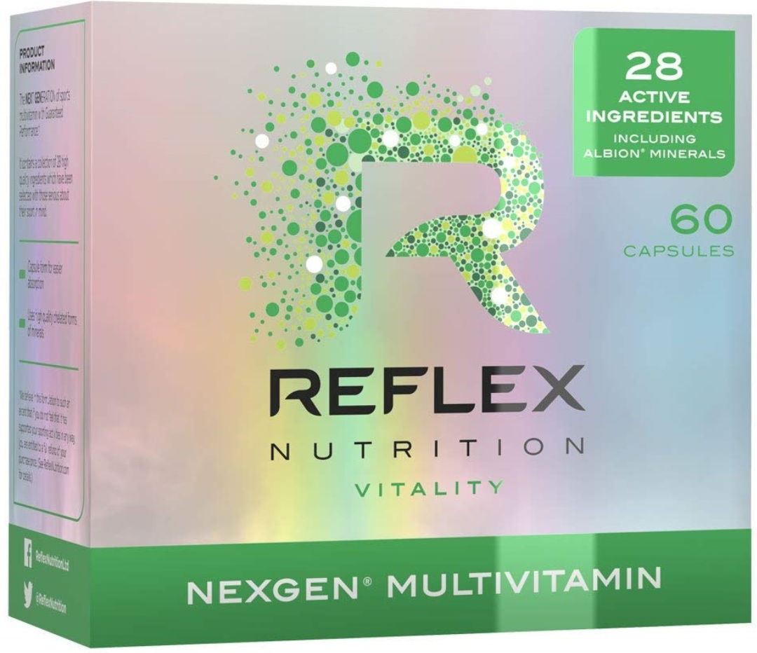 Reflex Nutrition Nexgen Sports Multi Vitamin, Keep Well, Keep Fit!