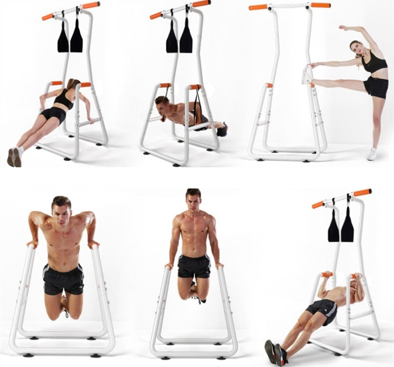 In Home Professional Body Building Fitness Frame & Pull Up Bars