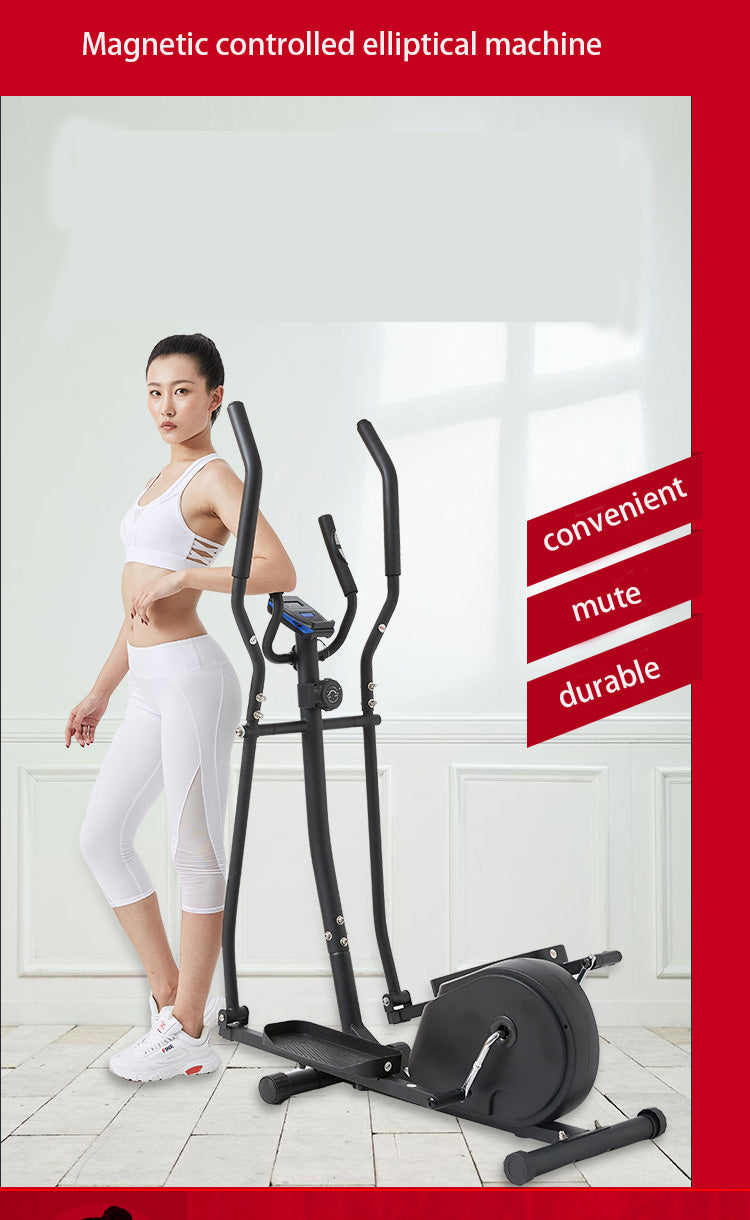 Magnetically Controlled Elliptical Cross Trainer With Heart Rate Monitor, Free Delivery and Available on 0% Finance