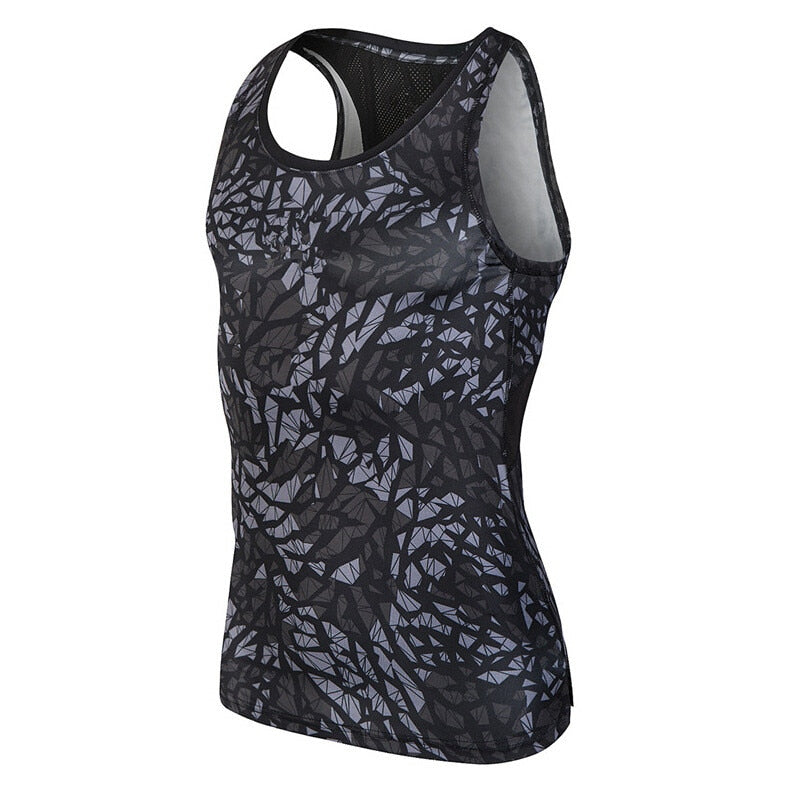 Compression Quick Dry Sleeveless Top