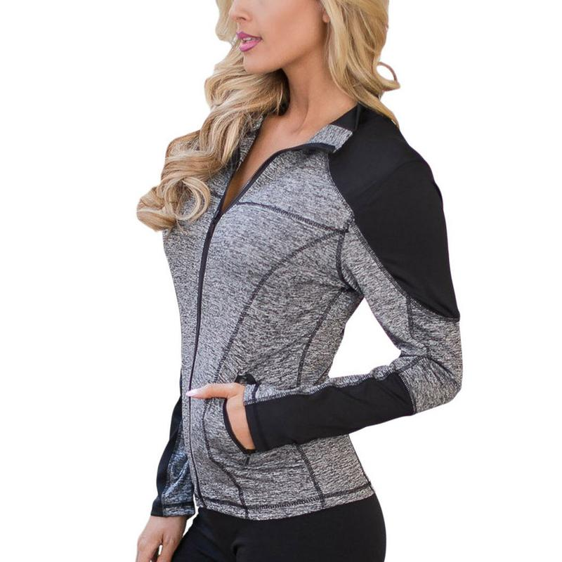Running Zipper Fleece Lined Jacket
