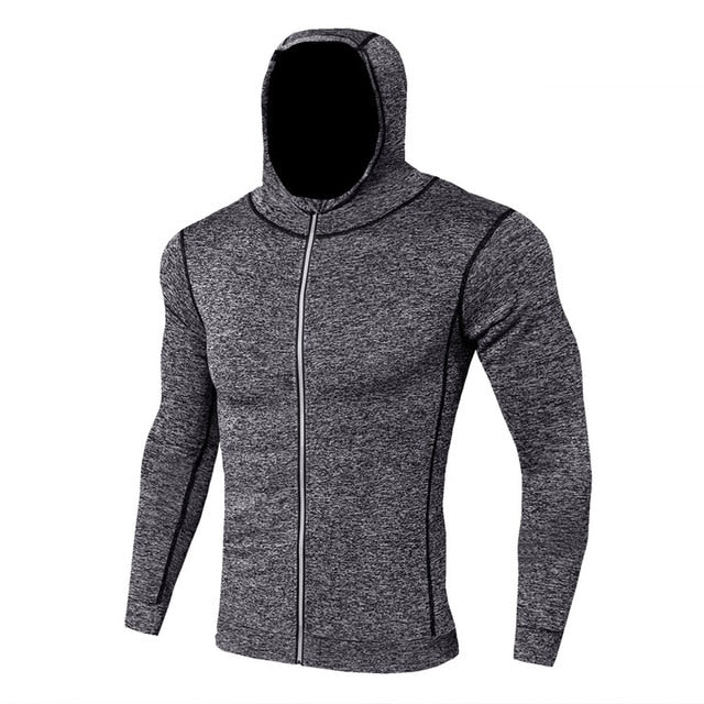 Compression Workout Hoodie
