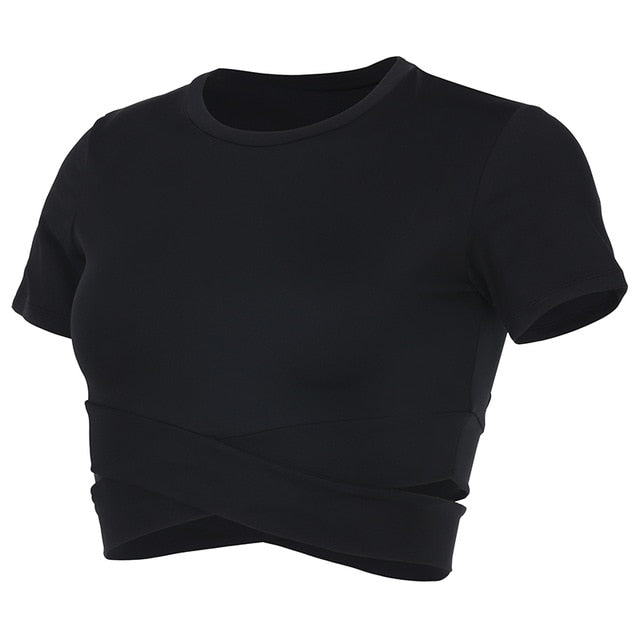 Seamless Yoga Crop Top