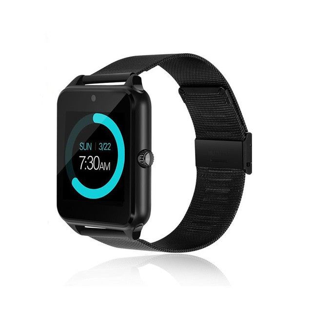 Smart Watch With Metal Band