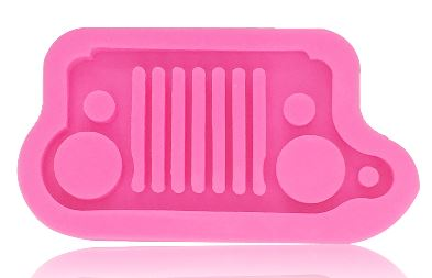 Silicone Mold - Off Road Vehicle Grill