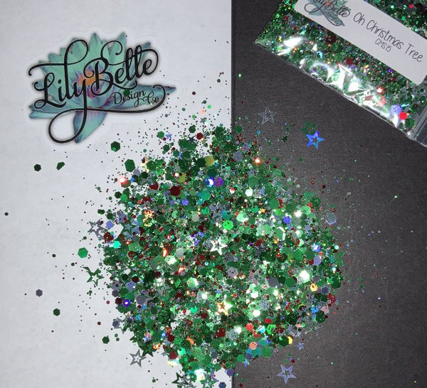 Glitter - Oh Christmas Tree - Chunky Mix