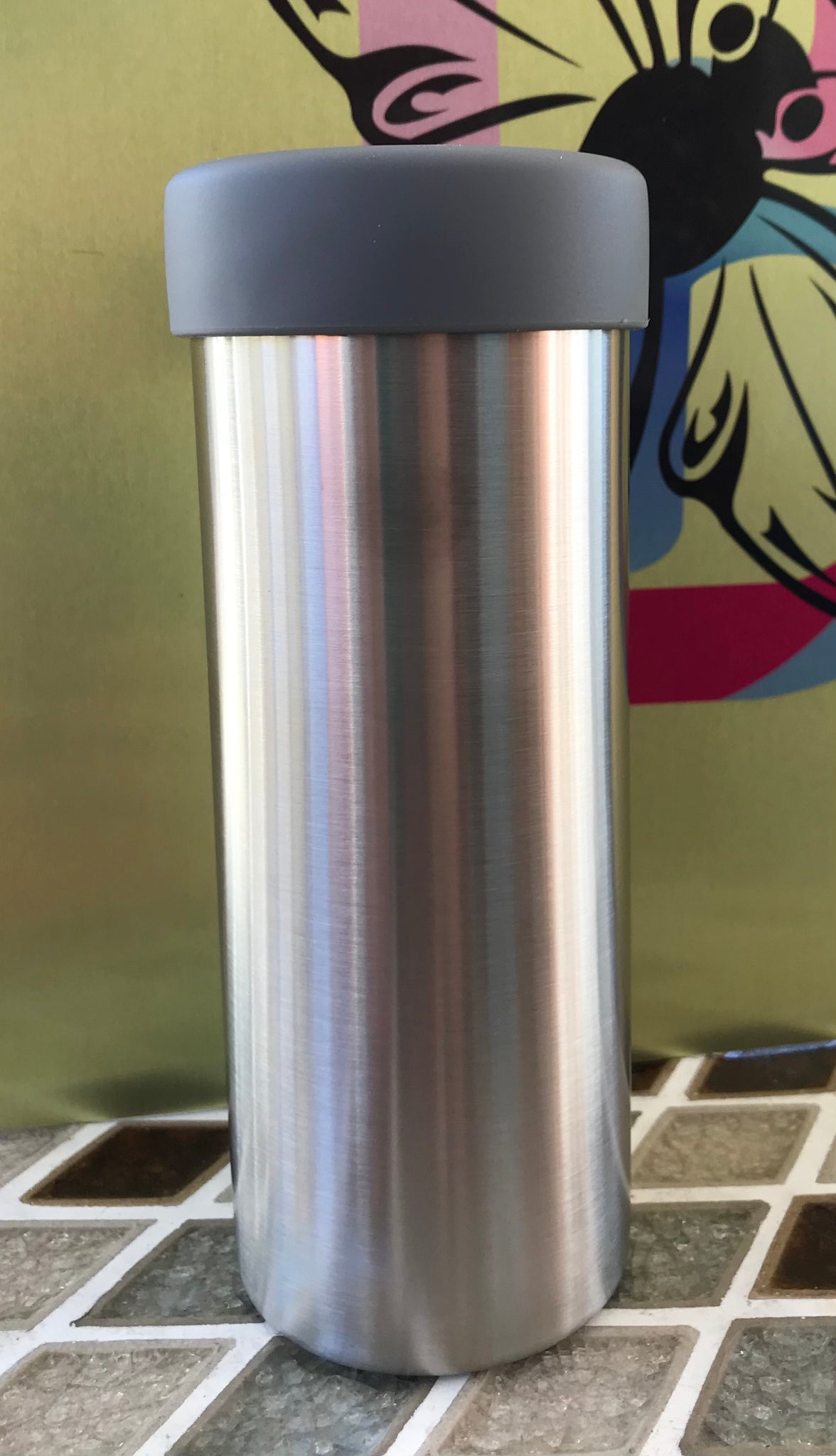 16 Ounce Aluminum Slim Can Kooler for aluminum bottles
