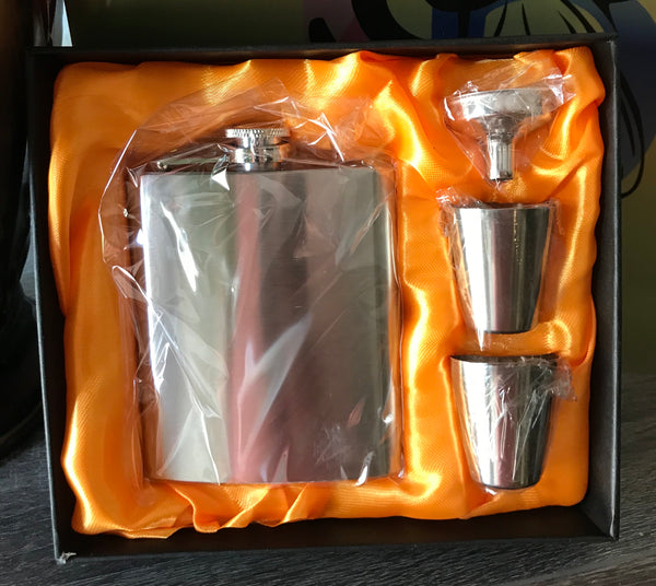 7 Ounce Flask Set