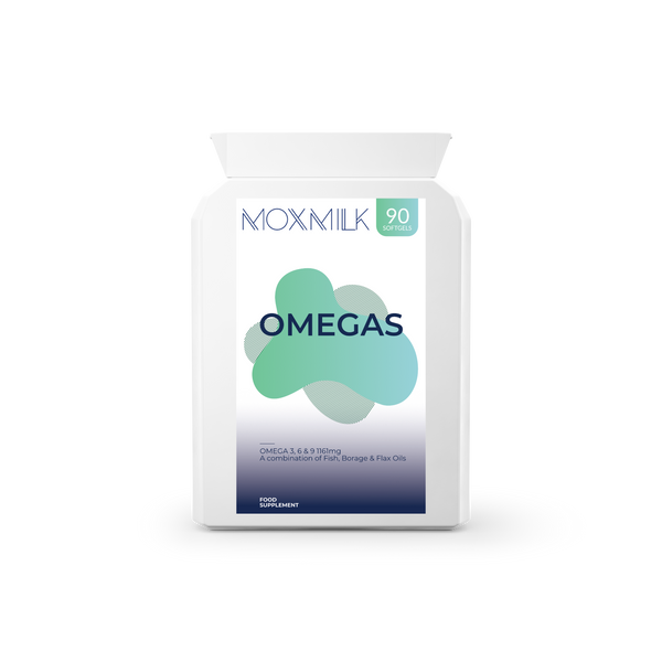 Omegas | Omega 3, 6, 9 1160mg | 90 Softgels