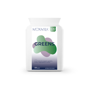 Moxmilk Greens | Superfoods & Greens | 100 capsules