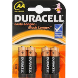 Duracell Plus 4 Pack AA Batteries