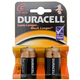 Duracell Plus 2 Pack C Batteries