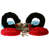 Toy Joy Furry Fun Cuffs   Red